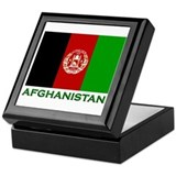 Afghanistan Keepsake Box