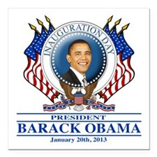 57th Presidential Inauguration Square Car Magnet 3