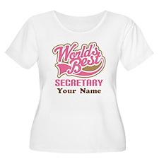 Personalized Secretary T-Shirt