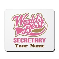 Personalized Secretary Mousepad