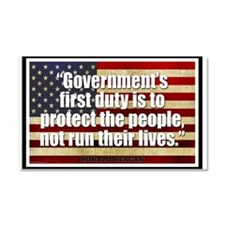 Ronald Reagan Quotes Car Magnet 20 x 12