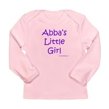 Abba's Little Girl Long Sleeve Infant T-Shirt