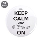 "Sign On 3.5"" Button (10 pack)"