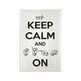 Sign On Rectangle Magnet (10 pack)