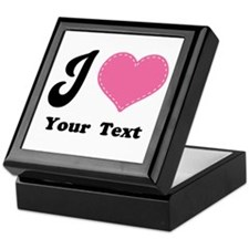 Personalized Love Heart Keepsake Box