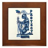 To Protect and Serve Framed Tile
