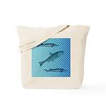 Three Fish Dots Tote Bag