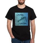 Three Fish Dots Dark T-Shirt