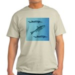 Three Fish Dots Light T-Shirt