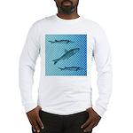 Three Fish Dots Long Sleeve T-Shirt