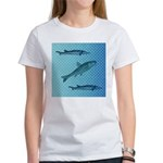 Three Fish Dots Women's T-Shirt