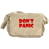 Funny Douglas adams Messenger Bag