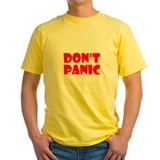 Unique Don't panic T