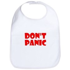 Cute Dont panic Bib