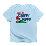 Daddy's Little Golfin' Buddy Infant T-Shirt