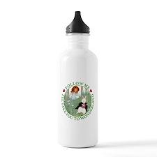 Follow Me To Wonderland Sports Water Bottle
