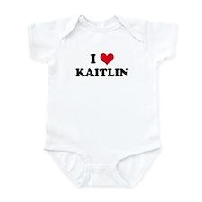 I HEART KAITLIN Infant Creeper