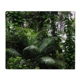 Tropical Rainforest - Throw Blanket