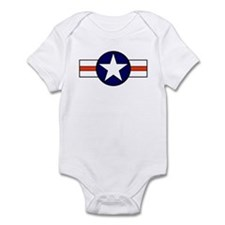 The USAF Red Stripe Shop Infant Creeper