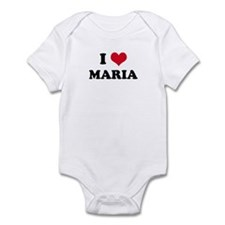 I HEART MARIA Infant Creeper