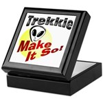 Trekkie Keepsake Box