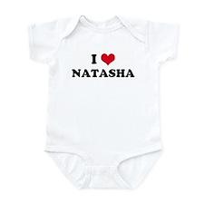 I HEART NATASHA Infant Creeper
