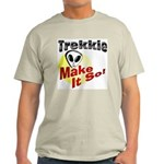 Trekkie Ash Grey T-Shirt