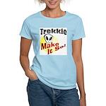 Trekkie Women's Pink T-Shirt
