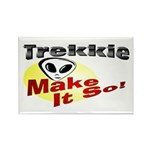 Trekkie Rectangle Magnet