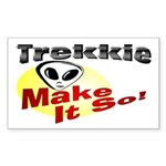 Trekkie Rectangle Sticker