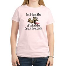 Crazy Goat Lady Shirts a GetYerGoat Exclusive