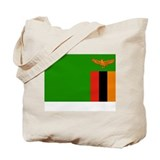 Zambia Flag Picture Tote Bag