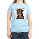 """Got Rottie?"" Women's Pink T-Shirt"