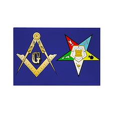 Masonic - Eastern Star Rectangle Magnet
