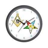 Masonic - Eastern Star Wall Clock