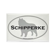 Schipperke Rectangle Magnet