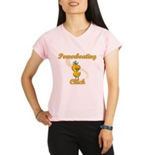 Powerboating Chick #2 Performance Dry T-Shirt