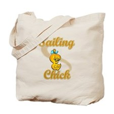 Sailing Chick #2 Tote Bag