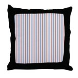 Aiyana Batik Stripes Throw Pillow