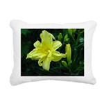 .pale yellow. Rectangular Canvas Pillow