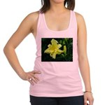 .pale yellow. Racerback Tank Top