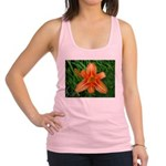 .orange daylily. Racerback Tank Top