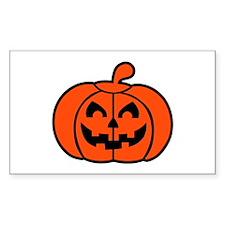 Pumpkin face halloween Decal