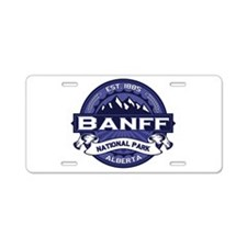 Banff Natl Park Midnight Aluminum License Plate