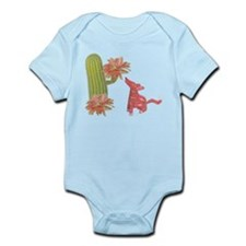 CACTUS FLOWER AND COYOTE Infant Bodysuit