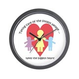 Littlest People Wall Clock