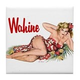 Wahine Tile Coaster