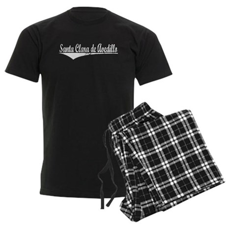 Santa Clara de Avedillo, Vintage Men's Dark Pajama