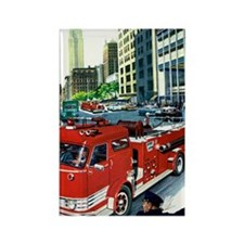 AT THE SCENE Rectangle Magnet (10 pack)
