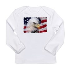 American Pride Long Sleeve Infant T-Shirt